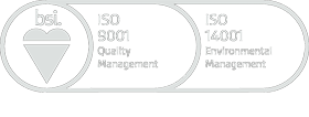 BSI: ISO 9001 Quality Management and ISO 14001 Environmental Management Approved